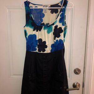Flowery tank top dress